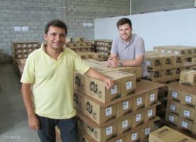 Os sócios-proprietários da Way Beer, Alessandro Oliveira e Alejandro Winocur