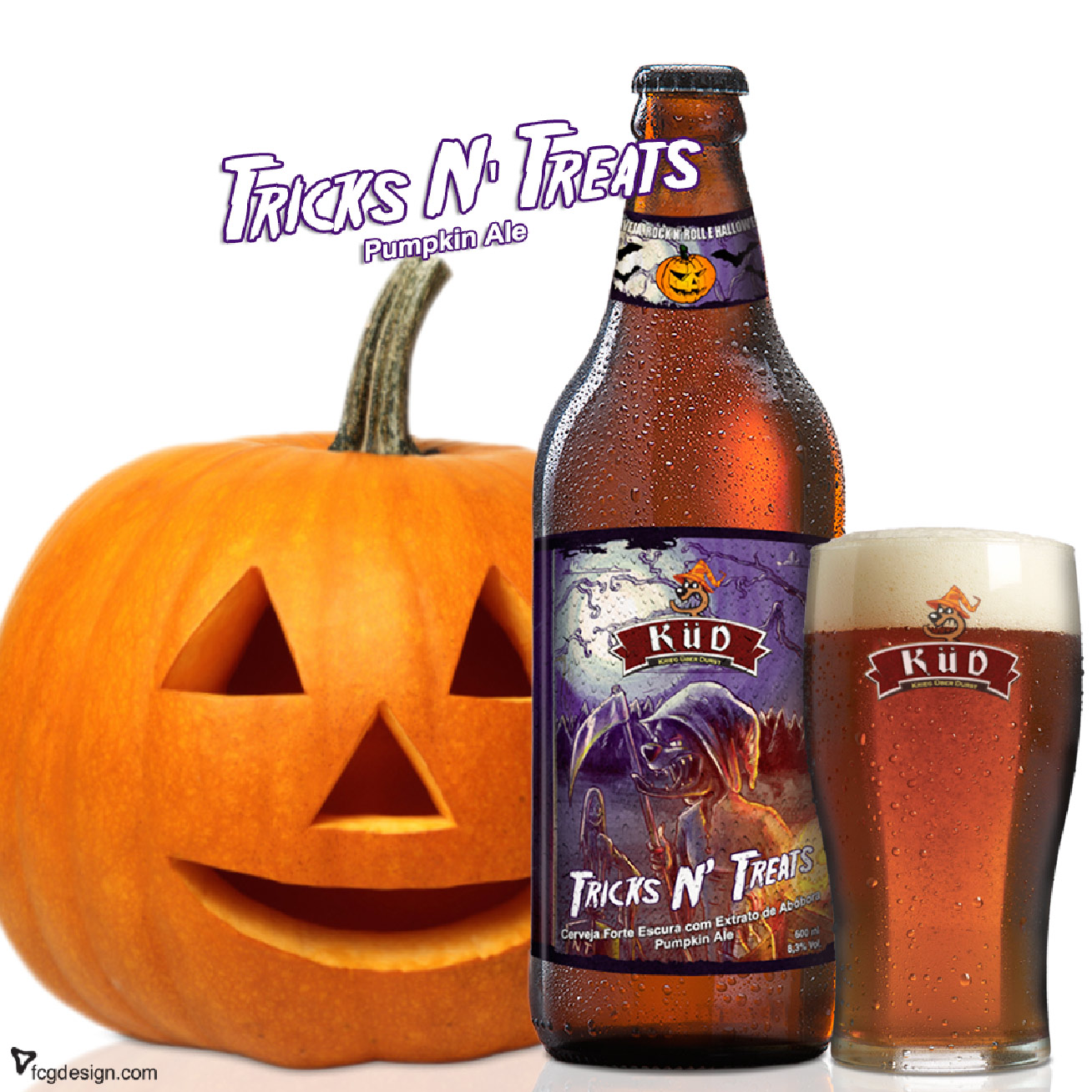A Treats N' Tricks é uma sazonal da Cervejaria Küd (MG)