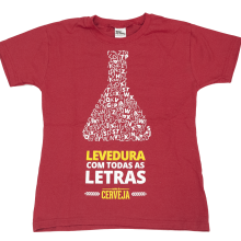 CAMISETA LEVEDURA COM TODAS AS LETRAS – FEMININA