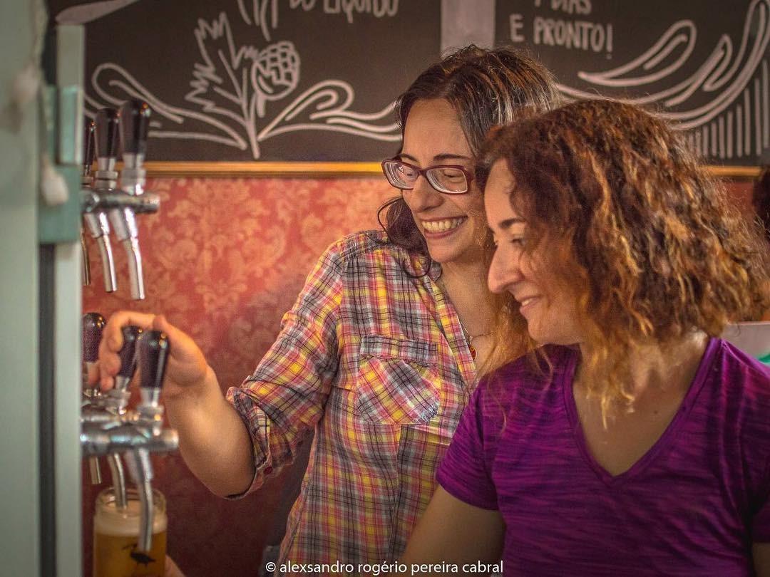 sócias Fernanda e Michelle