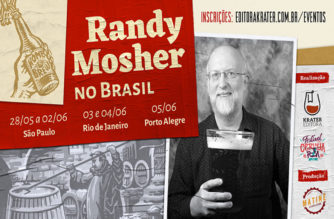 Randy Mosher volta ao Brasil
